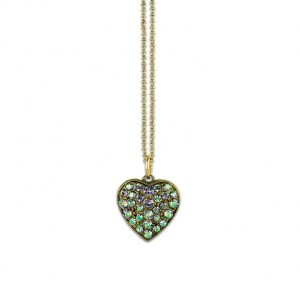 Madison Heart Charm Necklace